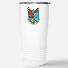 Aerospace Defense Comma Stainless Steel Travel Mug