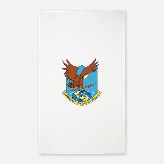 Aerospace Defense Command.png 3'x5' Area Rug