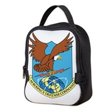 Aerospace Defense Command.png Neoprene Lunch Bag