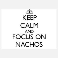 Keep Calm by focusing on Nachos Invitations