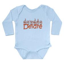 Deidre Long Sleeve Infant Bodysuit