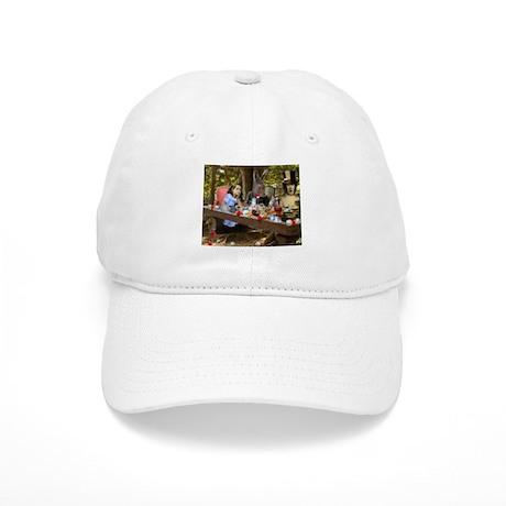 Mad Tea Party (detail) Cap