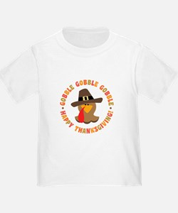 Funny Thanksgiving Pilgrim Turkey T