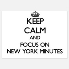 Keep Calm by focusing on New York Minu Invitations