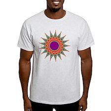 Rainbow Striped Star  T-Shirt