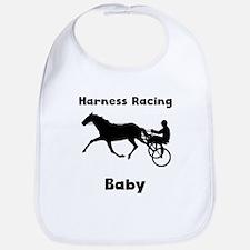 Harness Racing Baby Bib