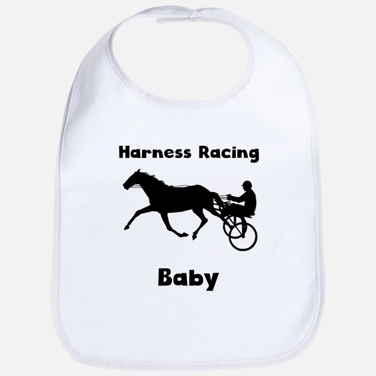 Harness Racing Baby Bib