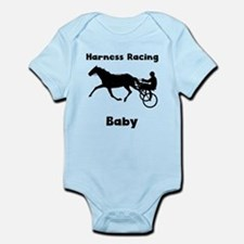 Harness Racing Baby Body Suit
