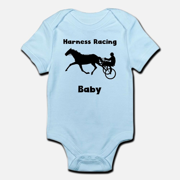 Harness Racing Baby Body Suit
