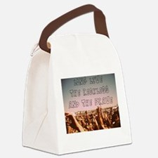 Funny Atl Canvas Lunch Bag