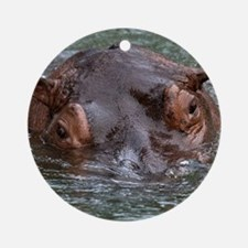 Hippo 8879 Ornament (Round)
