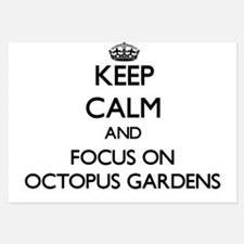 Keep Calm by focusing on Octopus Garde Invitations