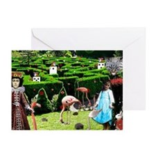 Croquet With The Queen Greeting Cards (Pk of 10)
