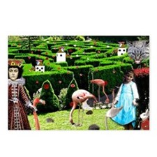 Croquet With The Queen Postcards (Package of 8)