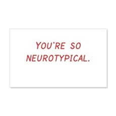 Neurotypical Wall Decal