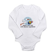 Stork Baby Bosnia USA Body Suit