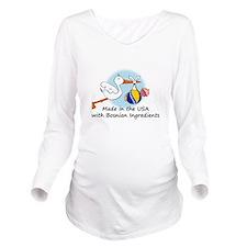 stork baby bosnia 2. Long Sleeve Maternity T-Shirt