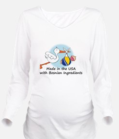 stork baby bosnia 2. Long Sleeve Maternity T-Shirt