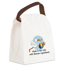 stork baby bosnia 2.psd Canvas Lunch Bag