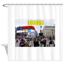 London Piccadilly Pro Photo Shower Curtain