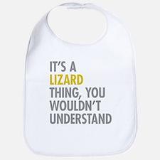 Its A Lizard Thing Bib