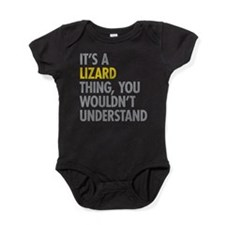 Its A Lizard Thing Baby Bodysuit