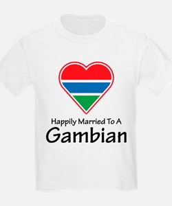 Happily Married Gambian T-Shirt