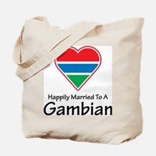 Happily Married Gambian Tote Bag