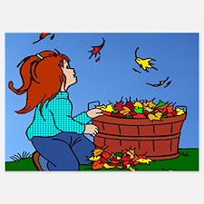 Autumn leaves are falling Invitations