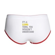 Its A Llama Thing Women's Boy Brief