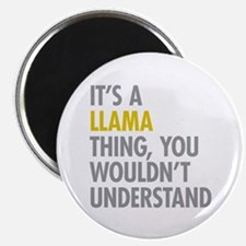 "Its A Llama Thing 2.25"" Magnet (100 pack)"