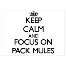 Keep Calm by focusing on Pack Mules Invitations