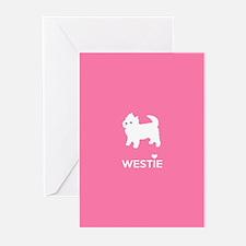 West Highland White Terrier - Westie Greeting Card