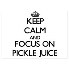 Keep Calm by focusing on Pickle Juice Invitations