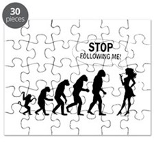 SEXY GIRL EVOLUTION Puzzle