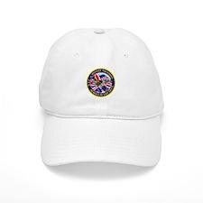 SPITFIRE w.UK flag.png Baseball Cap
