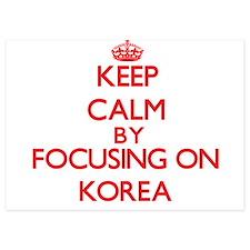 Keep Calm by focusing on Korea Invitations