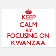 Keep Calm by focusing on Kwanzaa Invitations