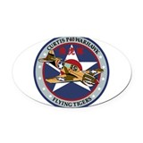 Air force magnetic Oval Car Magnets