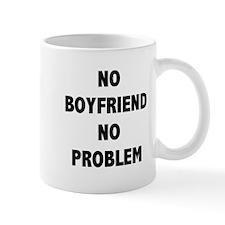 NO BOYFRIEND Mugs