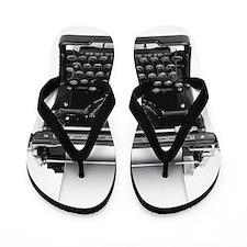 Typewriter Flip Flops