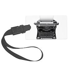 Typewriter Luggage Tag