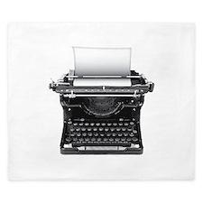 Typewriter King Duvet