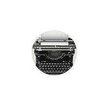 Typewriter Mini Button (100 pack)