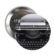 "Typewriter 2.25"" Button (100 pack)"