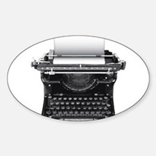 Typewriter Decal