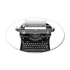 Typewriter Wall Decal