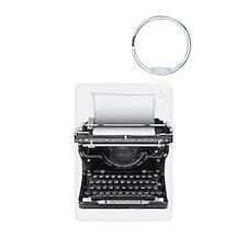 Typewriter Keychains