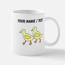 Custom Yellow Ducklings Mugs