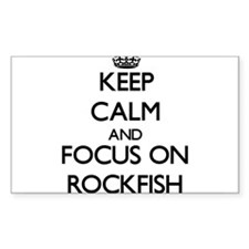 Keep Calm by focusing on Rockfish Decal
